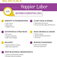 doTERRA Essential Oils for Pregnancy