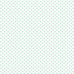 triangles mint green fabric by misstiina on Spoonflower - custom fabric