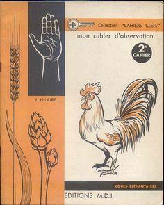 Mon Cahier d'observation 2e cahier CE, M.D.I. 1968