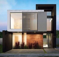 """Contemporary Mexican Architecture Firms You Should Know. : """"Be… Contemporary Mexican Architecture Firms You Should Know. : """"Be inspired by leading architects"""". Modern House Facades, Modern Architecture House, Facade Architecture, Residential Architecture, Modern House Design, Facade Design, Exterior Design, Contemporary House Plans, Contemporary Decor"""