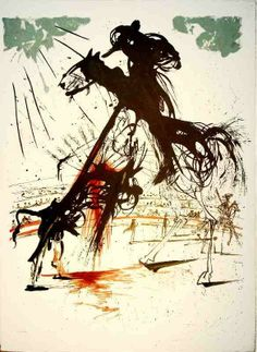 Salvador Dalí - Picador | From a unique collection of prints and multiples at http://www.1stdibs.com/art/prints-works-on-paper/