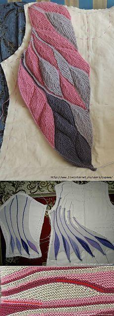 Resultado de imagen para swing knitting uzor