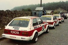 starlets kp61 Toyota Racing Development, Toyota Starlet, Strange Cars, Japanese Cars, Rally Car, Jdm Cars, Cars And Motorcycles, Old School, Automobile