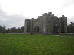 Slane Castle; located in Slane, Ireland. It's available for receptions, banquets, weddings, conferences, or anything like that. I totally wanna get married there if I ever do get married later in life.