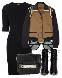 """Sem título #1400"" by beatrizvilar ❤ liked on Polyvore featuring Carven, Retrò, Diesel, Proenza Schouler and Gianvito Rossi"