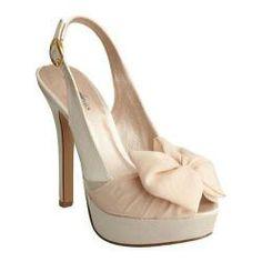 Women's Allure Bridals Sunrise Nude Silk Satin | Overstock.com Shopping - Great Deals on Allure Bridals Heels