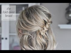 tutorial! I sometimes can stand having strands of hair fall down on my face and this is a great alternative to a simple pony