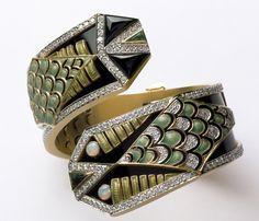 Baguez-Masriera Art Deco bracelet