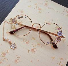 "Custom lolita cosplay sweet flower glasses  SE10168      Coupon code ""cutekawaii"" for 10% off"