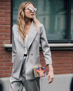 """299 Likes, 2 Comments - FashioninPills (@fashioninpills) on Instagram: """"@romeestrijd from #MFW #FW17 credits to @garconjon for @britishvogue #STREETSTYLE"""""""