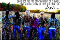 Flannel camo, country girl life is the life for me!