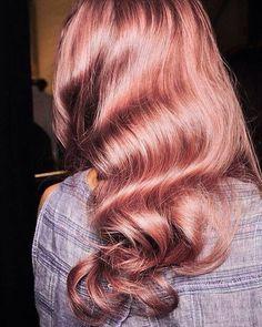 Cheveux Rose Gold Photos | Santé & Fitness