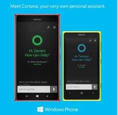 Microsoft presenta Windows Phone 8.1 con su asistente personal Cortana via @Julie Ritter