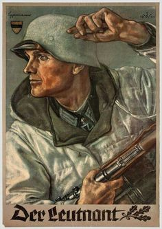 The German army or Wehrmacht were directly involved in killing civilians, women… Nazi Propaganda, Military Art, Military History, Ww2 Posters, Military Drawings, German Army, Illustrations And Posters, World War Two, Wwii