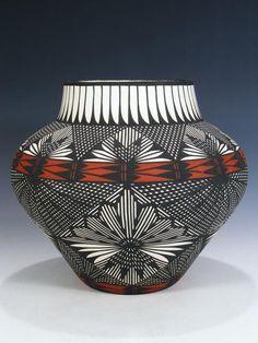 Acoma Pueblo de ojos Dazzler Diseño Mina