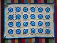 "Finally Finished: ""Peacock Blue"" blanket   Little Tin Bird"
