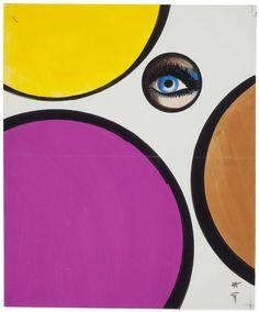 Rene Gruau 'The Eye' 1970