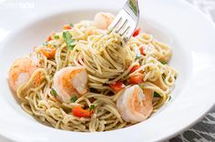 Recipe:+Skinny+Shrimp+Scampi