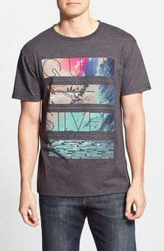 Quiksilver 'Stack City Mod' T-Shirt available at #Nordstrom