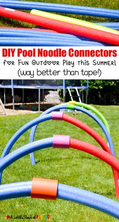 DIY Pool Noodle Conn