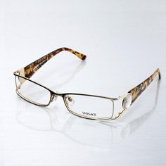 Image Detail for - Replica Versace Women's Eyeglasses in Gold Frame Outlet Fake US ...