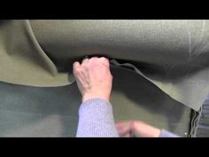 Detailed Tutorial on How to Make a slip cover for a wing back chair- by a professional upholsterer