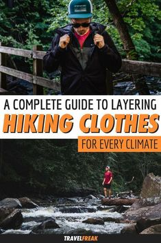 hiking outfit What to wear hiking: How to layer your hiking clothes for every climate. Layering your clothes effectively is the key to the perfect hik. Hiking Wear, Summer Hiking Outfit, Men Hiking, Hiking Tips, Hiking Outfits, Backpacking Tips, The Journey, Wander Outfits, Climbing Outfits