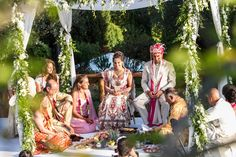 Indian Wedding - Hindu Marriage Ceremony in Tuscany, Italy Getting Married in Italy – Infinity Weddings