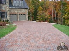 Los Amigos Landscape Home Site - Stone Work & Pavers Installation Brick Walkway, Front Walkway, Clay Pavers, Lawn And Landscape, Flagstone, Beautiful Landscapes, Walkways, Driveways, Photo Galleries