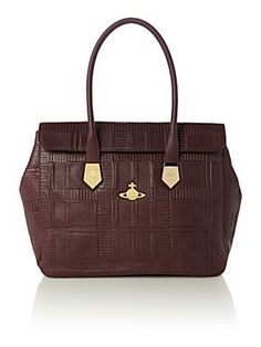 Vivienne Westwood Red large tote bag