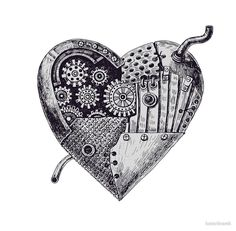 Mechanical heart by katerinamk