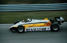 Alain Prost, Renault RE30B - Zandvoort, 1982. © John Millar