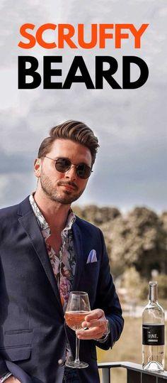 Scruffy Beard For Men. Latest Beard Styles, Beard Styles For Men, Old Man Outfit, Fashion 2020, Men's Fashion, Mens Fashion Blog, Mens Style Guide, Beard No Mustache, Boyish