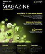 The Social Media Edition. Search and Social Media Magazine from Greenlight.