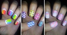 Easy Nail Art For Beginners!!! #4 I like this nail tutorial because the description doen't lie when it says it's easy