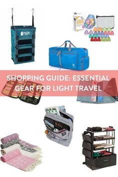 Shopping Guide: Essential Gear for Light Travel