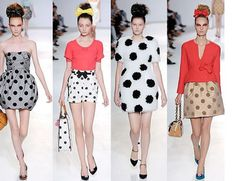 Cute Polka Dot or poofy outfits for party