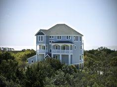 Outer Banks Vacation Rentals   Avon Vacation Rentals   Bella Vista Villa #892    (6 Bedroom Soundfront House)