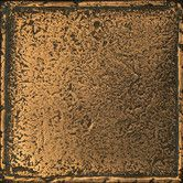 Found it at Wayfair - Metal Signatures Chateau Stone Glazed Field Tile in Aged Bronze