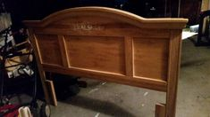 """Updating a 90's headboard to a sleek contemporary look. Do you guys remember this ever so popular bedroom set, """"Fontane by Broyhill""""? Heck, even Raymond and Deb…"""