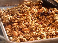 Pumpkin Spice Granola - i love anything pumpkin, so i should probably try this...