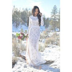 Vintage Sheer Lace Long Sleeves Hippie Boho Bohemian Mini Train Back... (£530) ❤ liked on Polyvore featuring dresses, silver, women's clothing, pink long sleeve dress, vintage mini dress, long sleeve maxi dress, boho maxi dress and cut out maxi dress