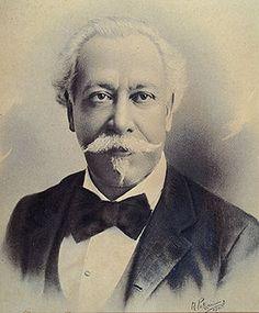 """""""Victor Meirelles"""". (Victor Meirellese de Lima).    Pintor brasileiro. (Born: 18/Agosto/1832 - 22/Fevereiro/1903)."""