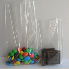 100 Count Super Clear Flat Cello Cellophane Treat Bags Gift Party Wedding Favor Bags 6x8 inch 12mil ** Want additional info? Click on the image.