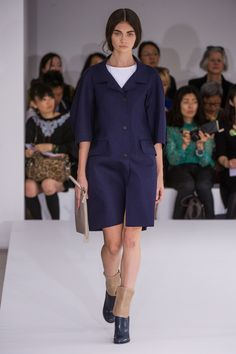 Jil Sander Spring 2013 Ready-to-Wear Fashion Show - Antonina Vasylchenko