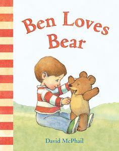 New arrival: Bean Loves Bear by David McPhail