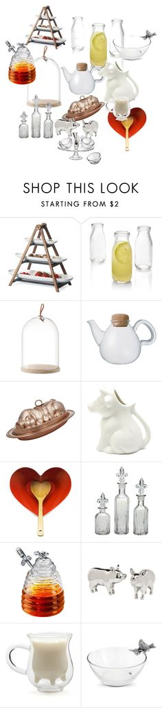 """Serve ware I love"" by lenteb ❤ liked on Polyvore featuring Villeroy & Boch, Crate and Barrel, Tom Dixon, Kinto, Segno Italiano, Maxwell & Williams, Dot & Bo, Artland, Godinger and Vagabond House"
