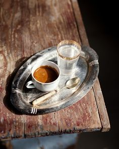 This coffee reminds me of my time in Prague...loved the Turkish coffee there!