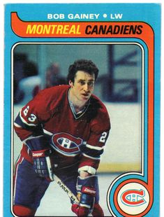 Find Topps Hockey Bob Gainey Montreal Canadiens in the Sports Memorabilia, Cards & Fan Shop - Cards & Stickers - Hockey - Non-Graded category in Webstore online auctions Hockey Girls, Hockey Mom, Ice Hockey, Boston Bruins Hockey, Pittsburgh Penguins Hockey, Chicago Blackhawks, Montreal Canadiens, Quebec Nordiques, Hockey Hall Of Fame