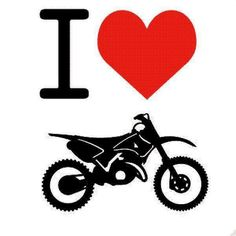 From my 1st ride on a dirt bike as a little girl...I fell in love w/them. Love 3-wheelers, quads and racing cycles!!